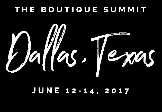 The Boutique Summit - June 12-14, 2017