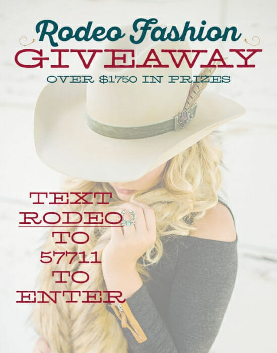 Rodeo Fashion Giveaway