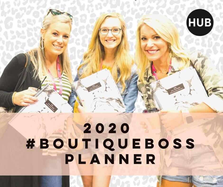 2020 #BoutiqueBoss Planner