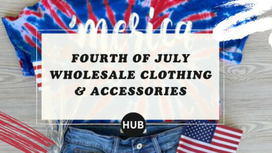 Fourth of July Wholesale Clothing & Accessories