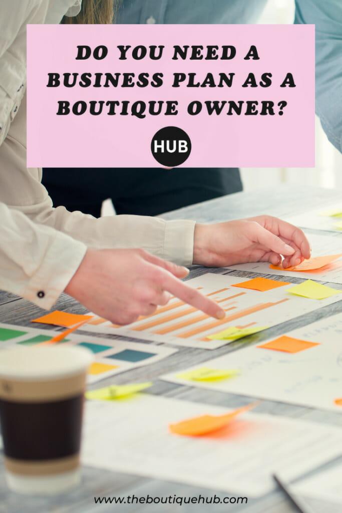 Business Plan Pin