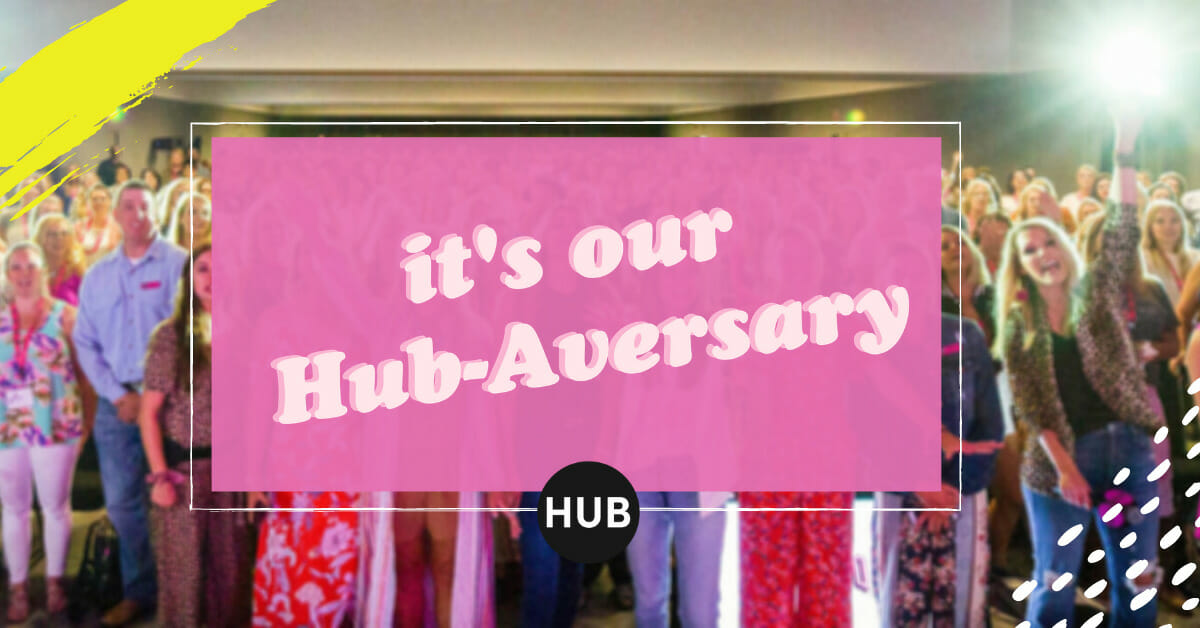 It's Our Hub-Aversary!