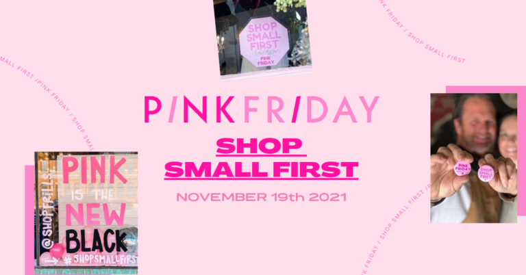Pink Friday: Support Small Businesses