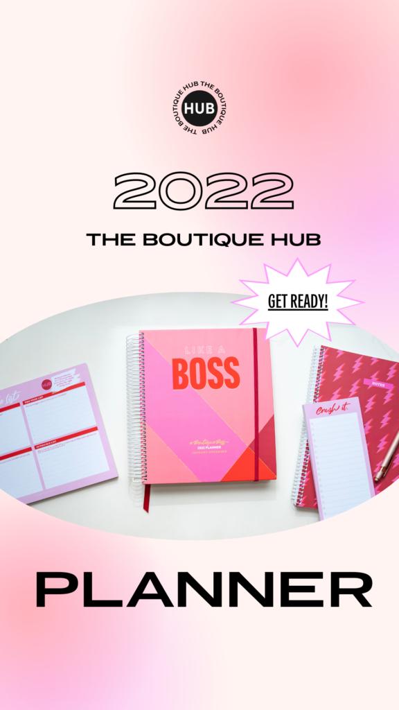 #BoutiqueBoss Planner