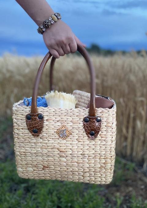 Small Croc Basket