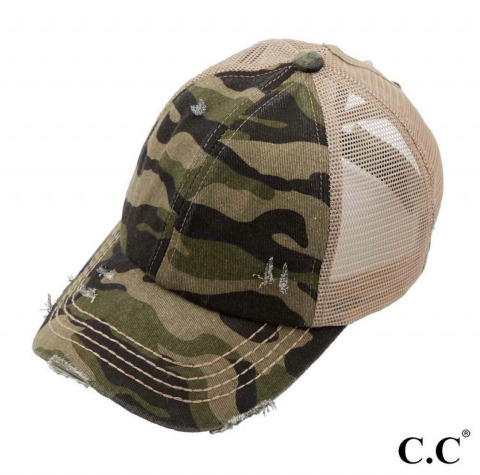 CC Criss Cross Ponytail Hat
