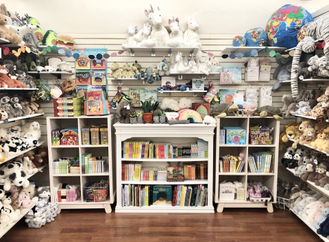 All the Jellycat & books!
